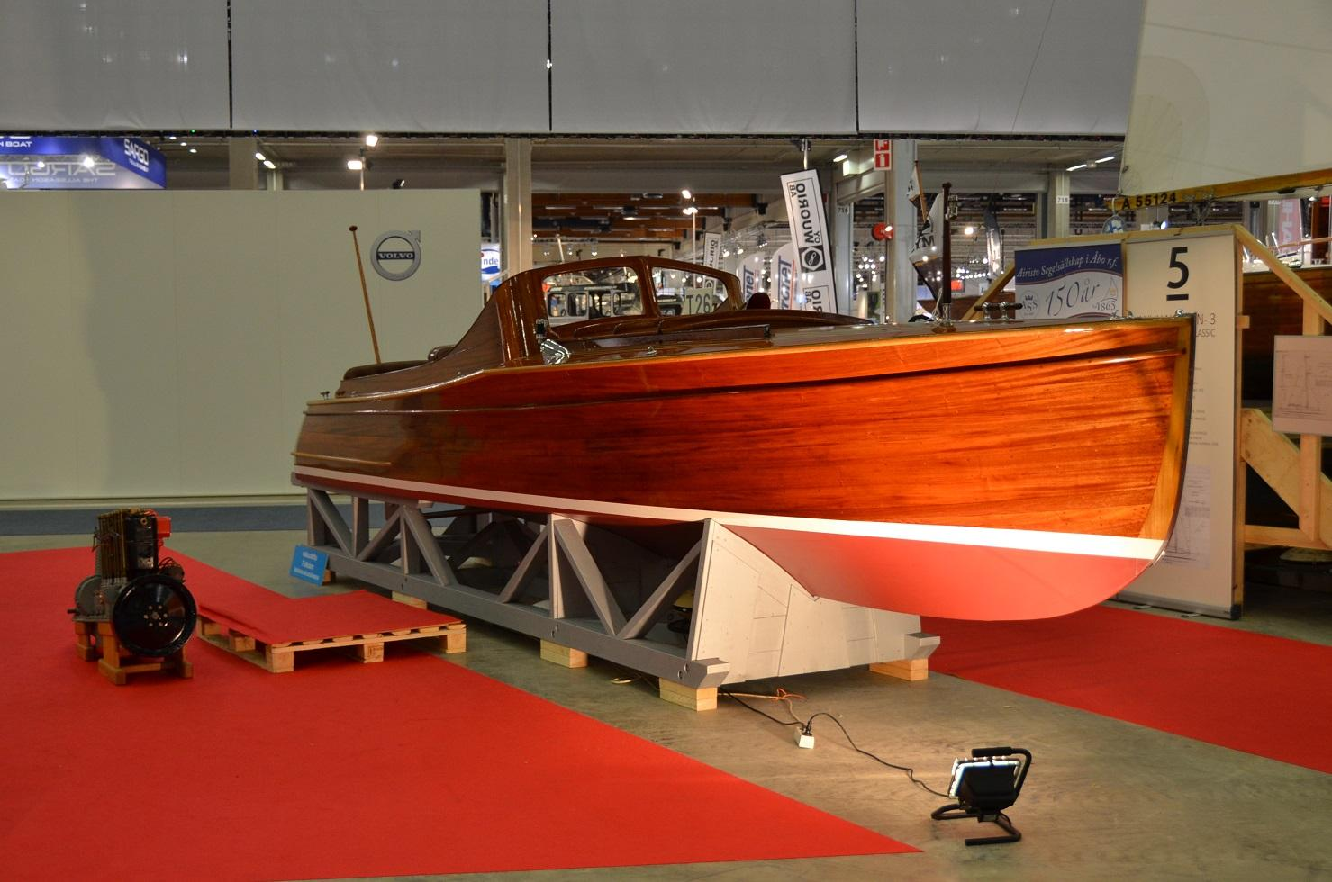 Expresmotorbåt, Andrée & Rosenqvist