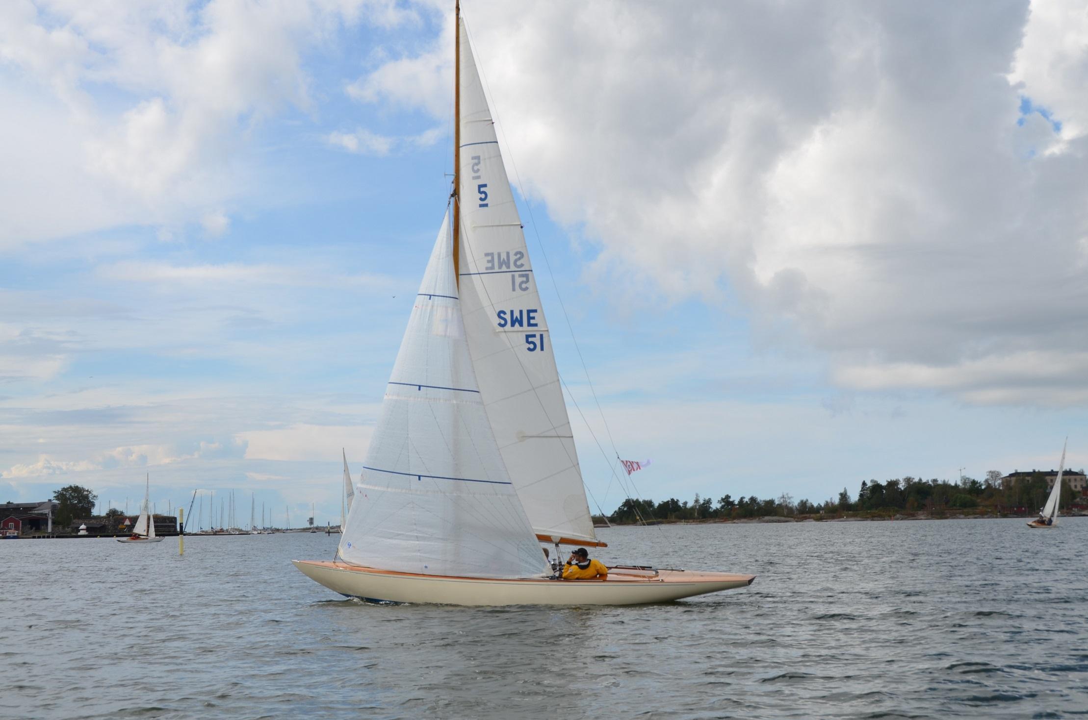 Int 5m Blåvinge S-51, FIN-45