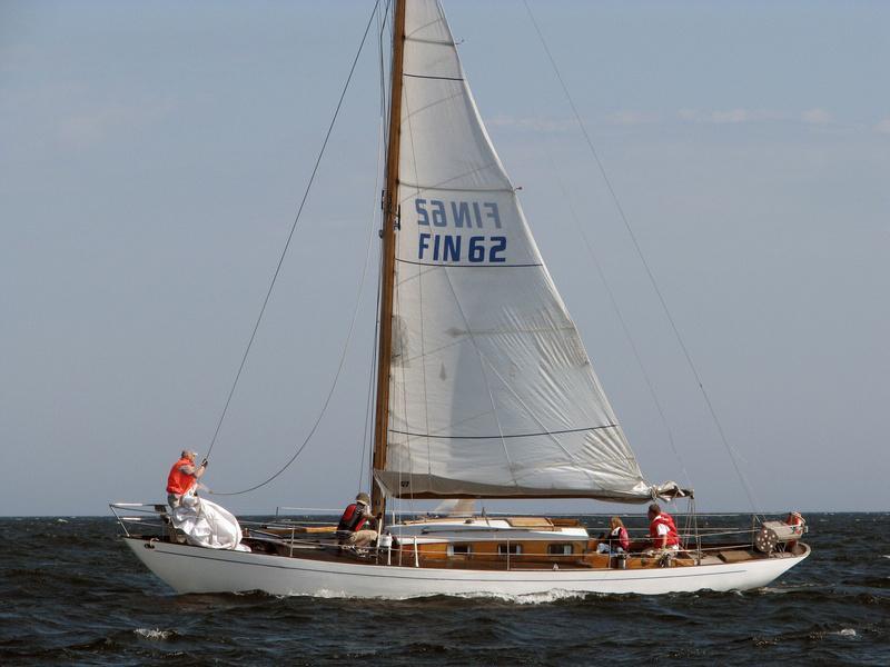 Utö-risteilijä Elisabet FIN-62